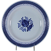 Collector's Cabinet Plate Hand-Painted  Blue Decoration by Royal Copenhagen
