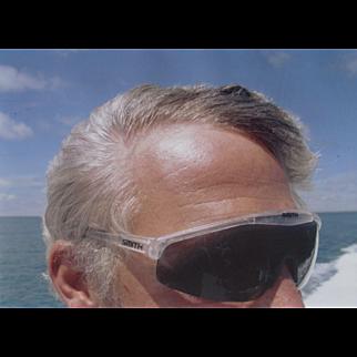 BILL OWENS, Digital C Print,  Passenger on Boat to Nantucket, Rhode Island