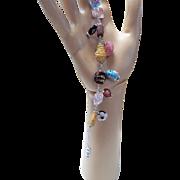 Peking Glass Bracelet
