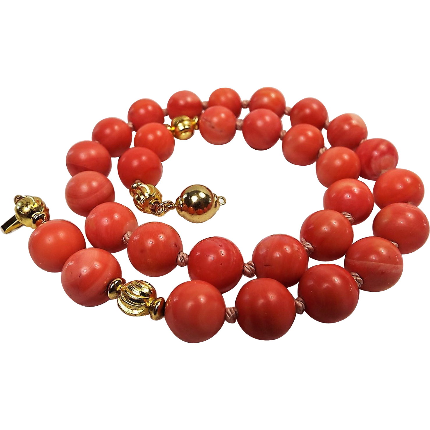 100 natural rose color momo coral necklace from for Natural rose colors