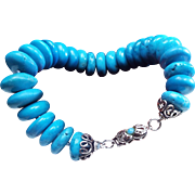 Natural Chinese Turquoise Bracelet
