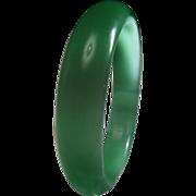 Beautiful Green Iridescent Bangle