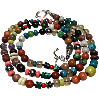 Necklace Or Bracelet, Your Choice, how to wear, Multi Colors
