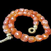 Natural 460cts, Orange Carnelian Necklace