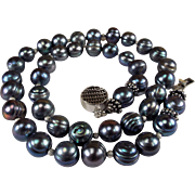 Amazingly, Gorgeous, Peacock Pearl, Necklace