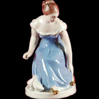 Porcelain Figure of a Girl