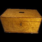 Antique Birds Eye Maple Box