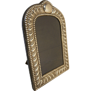 English Sterling Silver Photo Frame