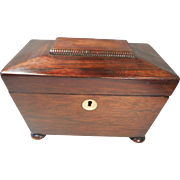Antique Rosewood Caddy