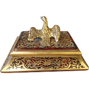 Antique Boulle Eagle Paperweight