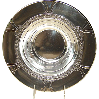 Art Deco Sterling Silver Bowl by Gorham in the Franconia Pattern