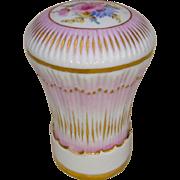 Mid/Late 19th C. Meissen Porcelain Cane Handle