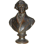 1860's Bronze Bust of George Washington by Carlo Marochetti