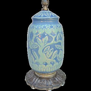 Art Deco Cowan Pottery Lamp Base c. 1925