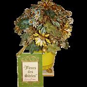 Jane Hutcheson Designed Floral Basket for the Gorham Co.