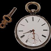Beautiful Antique Pocket Watch - Six Rubis, circa 1890