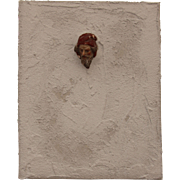 """Head through the Wall"" - Original ARTiFACT by Sebastian Vianova - Antique meets Modern"