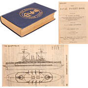 """The Naval Pocket Book""  from 1898 by W. Laird Clowes"