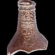 17th Century Bellarmine / Bartmann Stoneware Jug Fragment from Germany