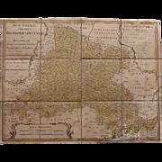 18th Century Map of Bohemia by HOMANN Hairs 1770