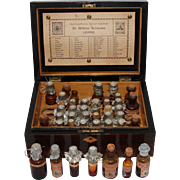 19th Century Homeopathic Apothecary Box from Germany - Homöopathische Central-Officin Dr. Willmar Schwabe