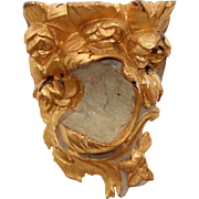 Original 18th Century Late Baroque / Rococo Wood Carved Gilt Console