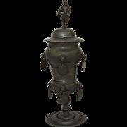 18th Century German Pewter Guild Beaker 'ZUNFTPOKAL' (dated 1795)