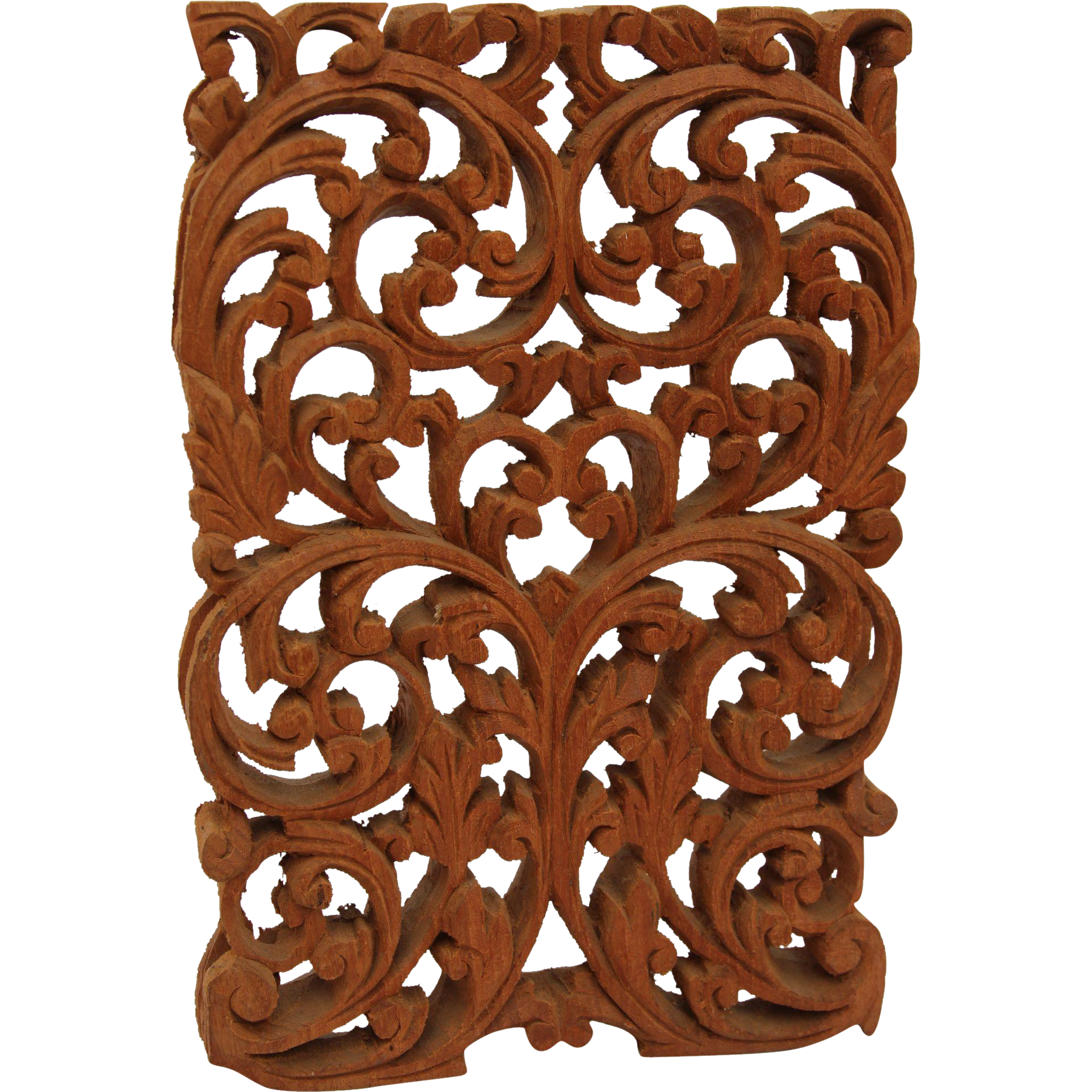 Vintage arabic style wood carved window panel floral for Window design png