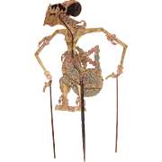 Original Indonesian Leather Shadow Puppet - Wayang