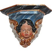 18th Century Putti / Angel / Cherub Console - Baroque Wood carved