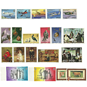 Jersey Postage Stamp Lot From the 1980's in Mint Never Hinged Condition - Lot #3