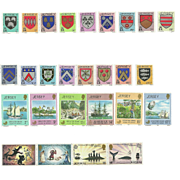 Jersey Postage Stamp Lot From the 1980's in Mint Never Hinged Condition - Lot #4