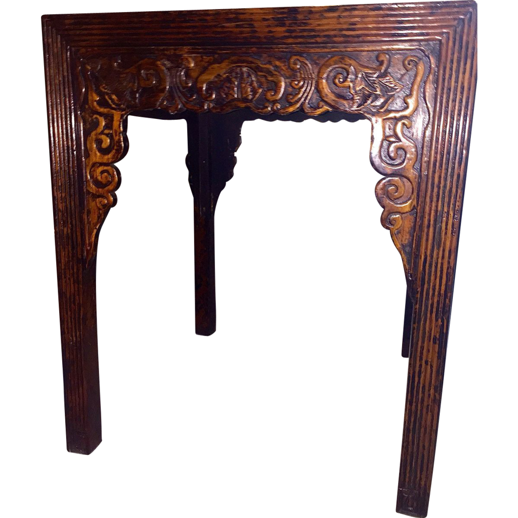 Superb img of Antique Chinese Lacquered Wooden Alter Table Shanxi Origin c. 1850  with #965D35 color and 1024x1024 pixels