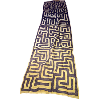 Antique African Kuba Cloth, c. 1900