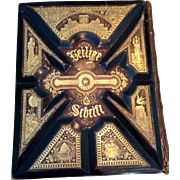 1880s Antique German Bible