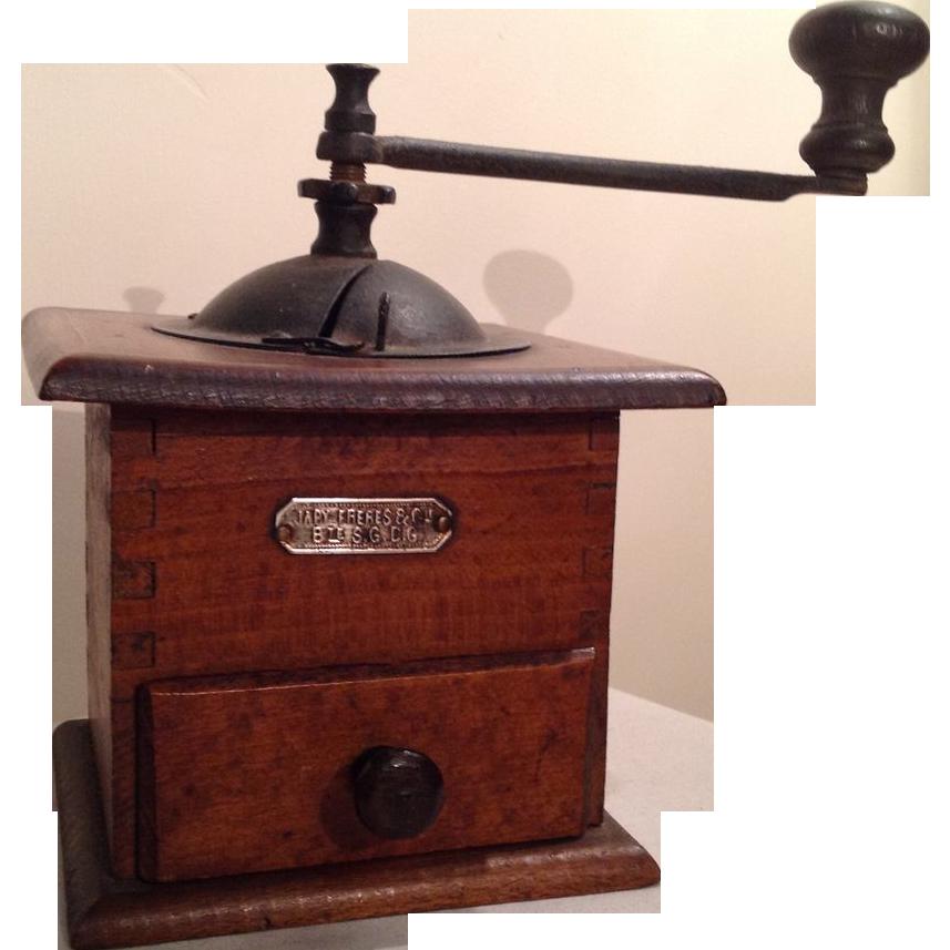 Coffee Grinder Of 1920 ~ Vintage french coffee grinder circa s sold on ruby lane