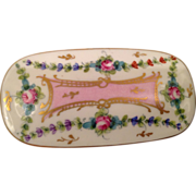 Vintage Limoges Porcelain Trinket Box Marked GDA