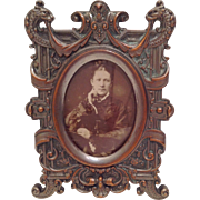 Antique French/ Serpent Photo Frame. C.1870
