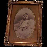 Antique French Ormolu Photo Frame C.1890