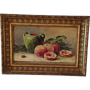 French 19th Century Oil Painting/Still Life C.1870