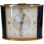 Small Vintage Jaeger Alarm Clock 1950's. Working