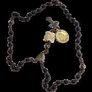 Antique Skull Paternoster/ Rosary/Momento Mori 17th Century