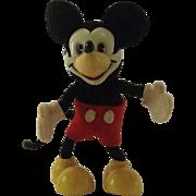 Schuco Hegi Walt Disney, Mickey Mouse Mascot Figure 1960's.