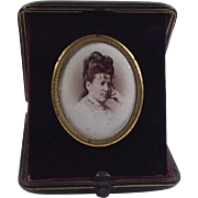 Victorian Travelling Folding Photograph Frame. C.1890