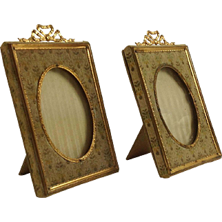 Pair of Antique French Photograph Frames C.1880