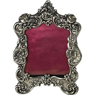 Gorham Ornate Sterling Silver Photo Frame No.321.
