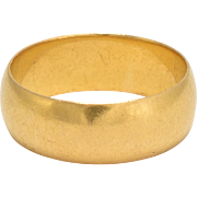 Antique Edwardian 22k Gold Wedding Band