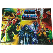 He-Man and the Masters of the Universe MOTU India Unused Puzzle featuring Skeletor Cringer Battle Cat Orko