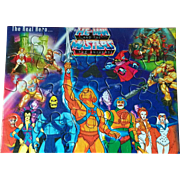 He-Man and the Masters of the Universe MOTU India Unused Puzzle featuring Beast Man Sorceres Teela Evil-Lyn