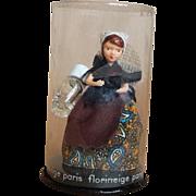 Miniature French Perfume Doll Florineige Paris in Capsul